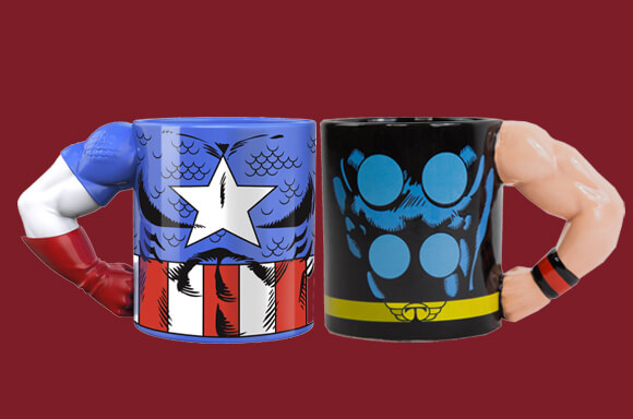 Offre Multi-achat Mugs Marvel - 3 POUR 20€ !