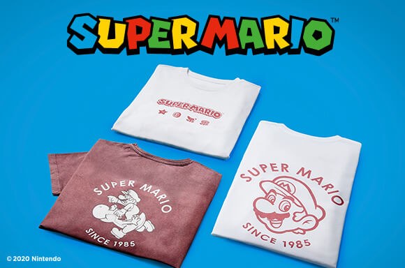 Vêtements Super Mario
