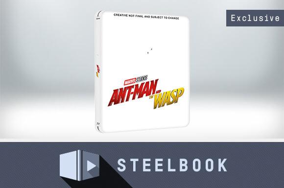 ANT-MAN ET LA GUÊPE 3D +2D - STEELBOOK ÉDITION LIMITÉE