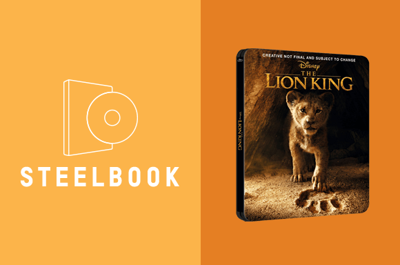 LOT STEELBOOK LE ROI LION (LIVE)