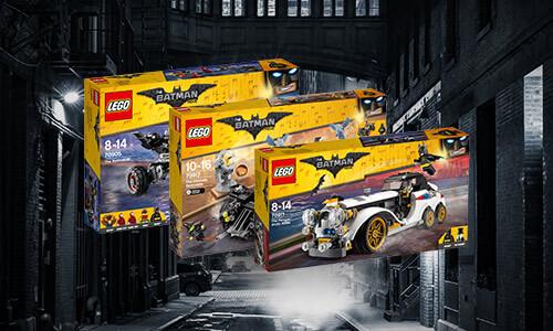 LEGO BATMAN + MINI-FIGURINE GRATUITE