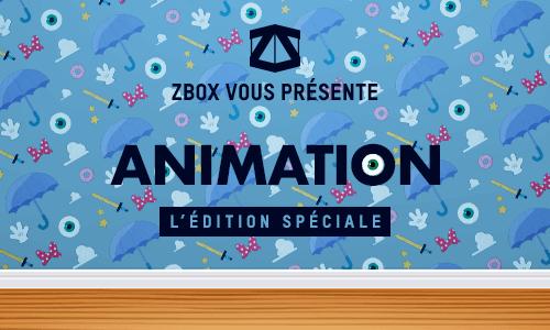 BAISSE DE PRIX :<br />ZBOX ÉDITION ANIMATION
