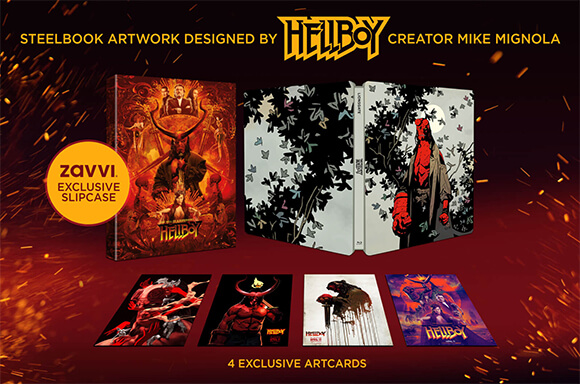 STEELBOOK EXCLUSIF HELLBOY 4K