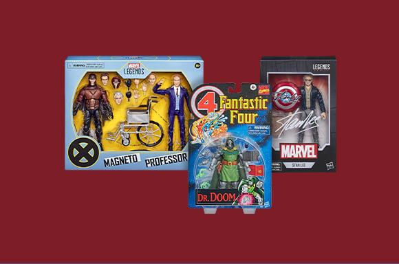 Réductions Objets de Collection Hasbro Marvel