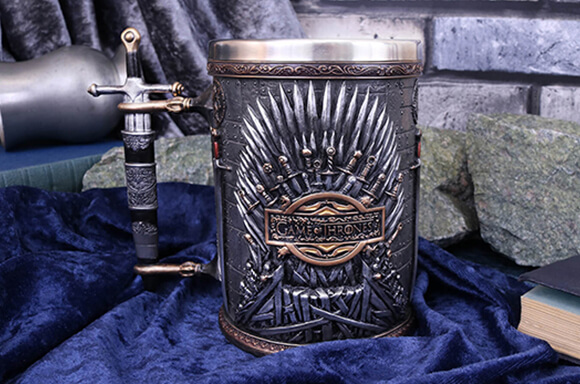 CHOPE EN ARGENT<BR> GAME OF THRONES