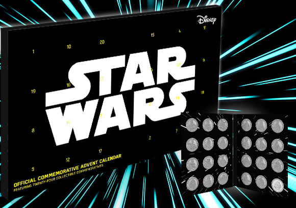 STAR WARS<BR>CALENDRIERS DE L'AVENT PIÈCES DE COLLECTION