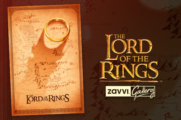 THE LORD OF THE RINGS <BR>DOALY SCREENPRINT
