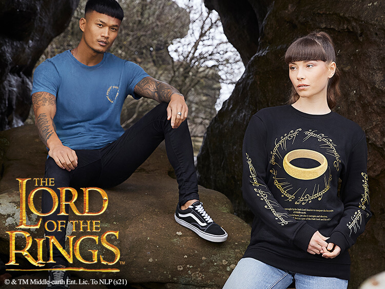 Collezione abbigliamento Il signore degli anelli