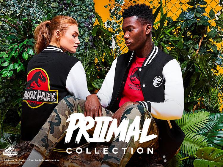 Collezione di Abbigliamento Jurassic Park Primal 2