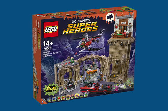 LEGO Batman Classic TV Series Bat Cave