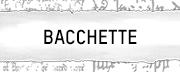 Bacchette