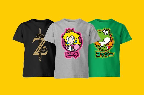Nintendo Kids T-shirts €6,99