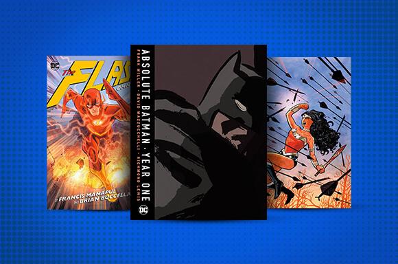 DC Comics boeken