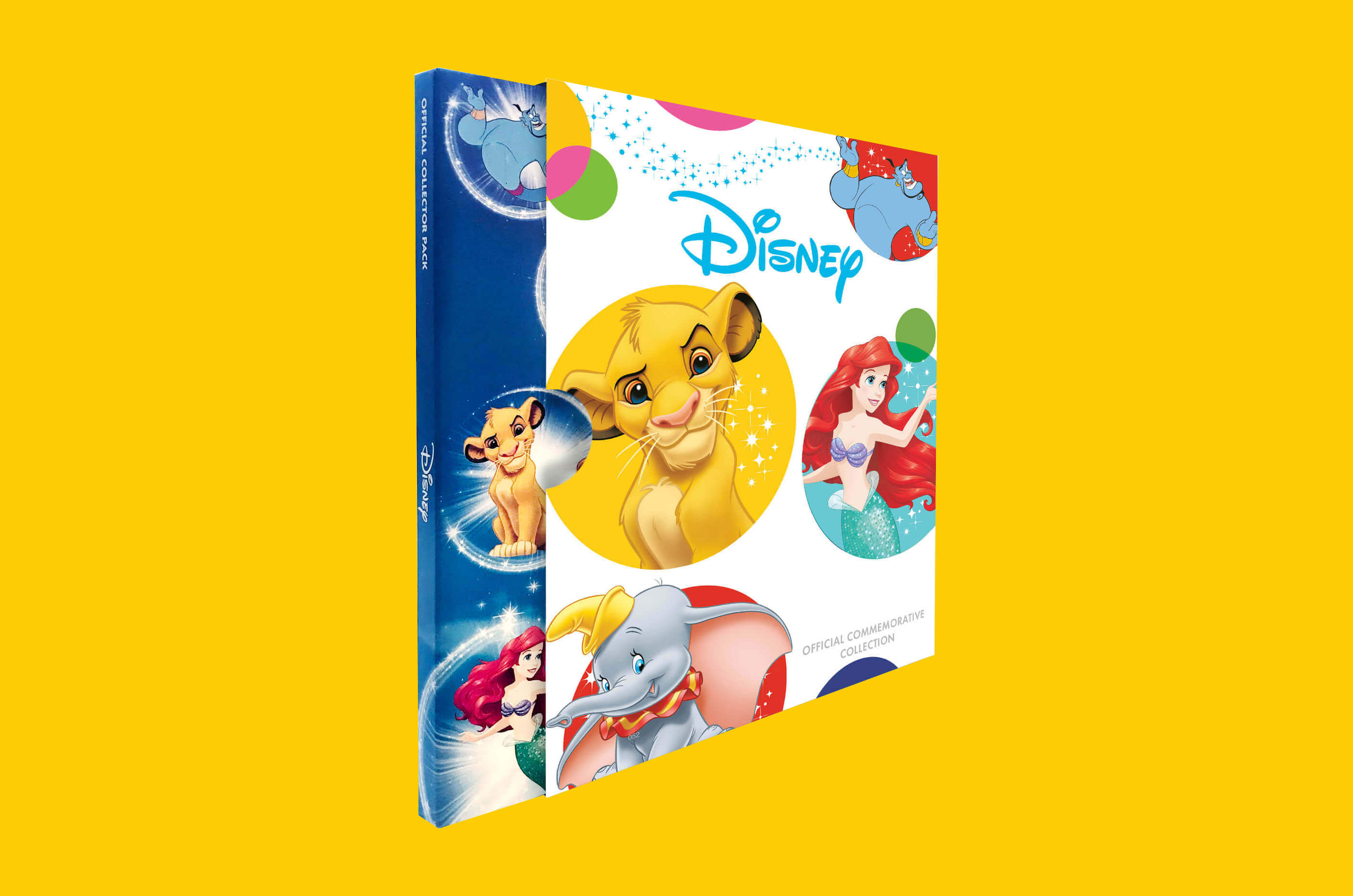 DISNEY MUNTEN COLLECTIE