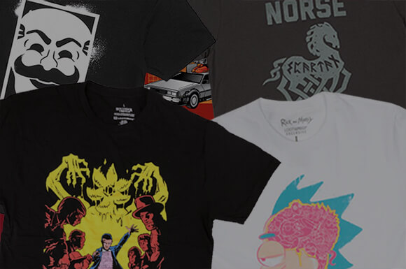 MYSTERY T-SHIRTS 10 PACK