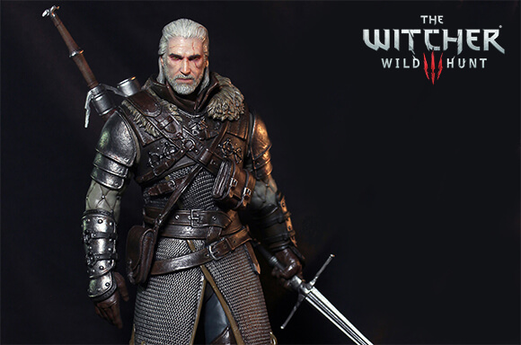 THE WITCHER STATUES & FIGURES