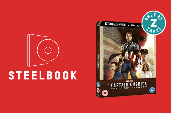 CAPTAIN AMERICA: THE FIRST AVENGER 4K STEELBOOK