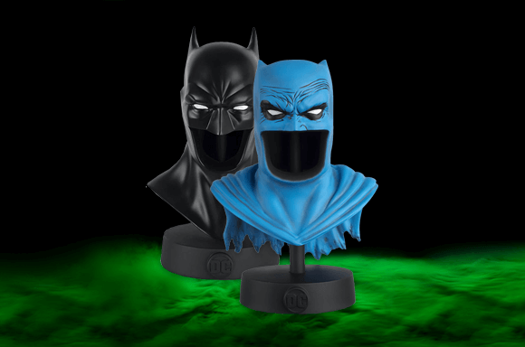 2 BATMAN COWL BUSTS<BR> FOR JUST $29.99!