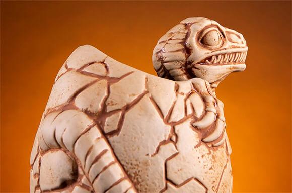Jurassic Park Raptor in Egg Tiki Cup by Mondo