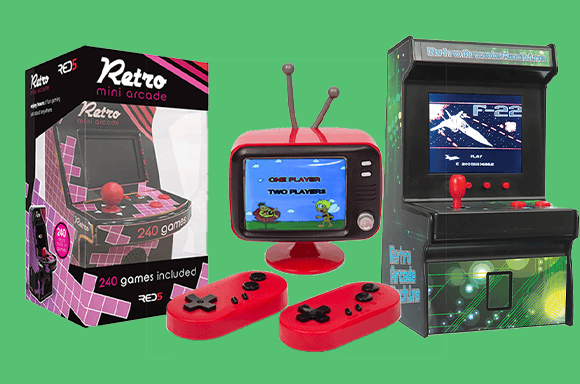 25% off Retro Games Arcades And Consoles