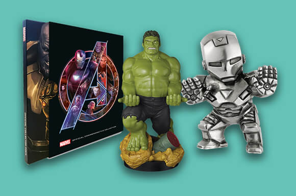 20% OFF MARVEL COLLECTIBLES
