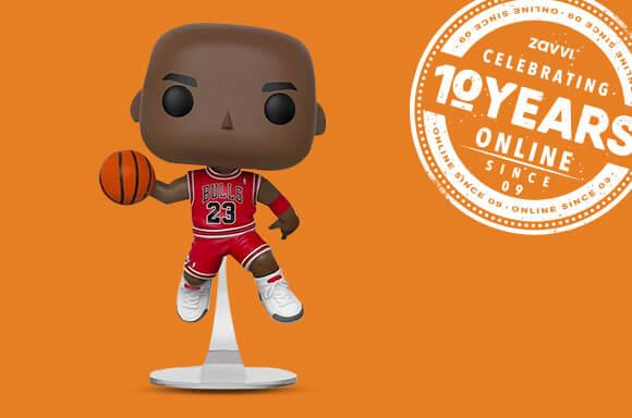 NBA CHICAGO BULLS<BR> MICHAEL JORDAN POP! VINYL