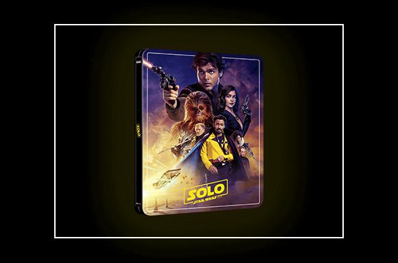 Solo: A Star Wars Story – Zavvi Exclusive 4K Ultra HD Steelbook