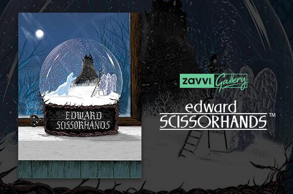 EDWARD SCISSORHANDS LIMITED EDITION PRINT
