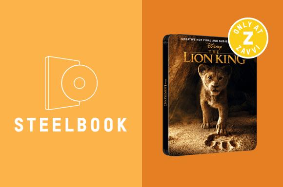 LION KING STEELBOOK
