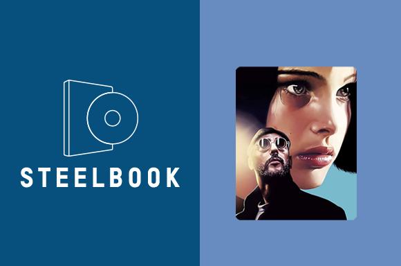 Leon: Directors Cut <br> 25th Anniversary 4K Steelbook