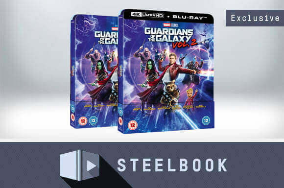 GUARDIANS OF THE GALAXY VOL.2<BR>LENTICULAR STEELBOOKS</BR>