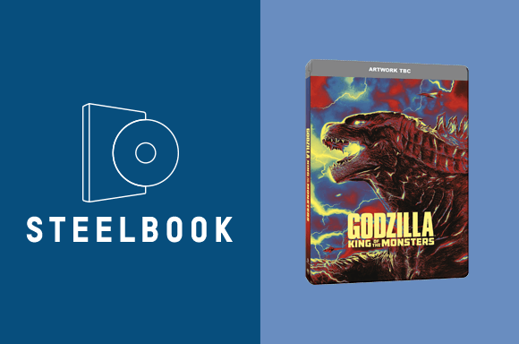 GODZILLA: KING OF THE MONSTERS 4K STEELBOOK!