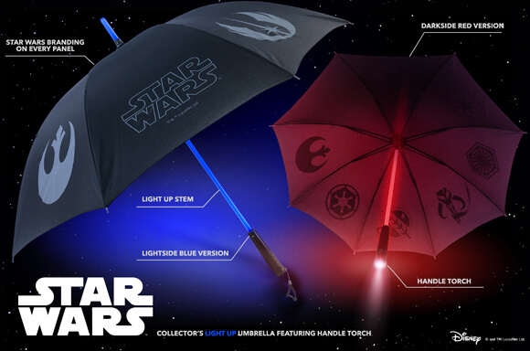 Star Wars Umbrellas