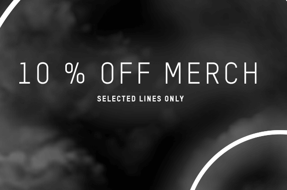 10% OFF & PRICE DROP ON BEST SELLING MERCHANDISE
