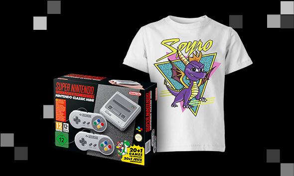 Retro Console + free Kids T-shirts