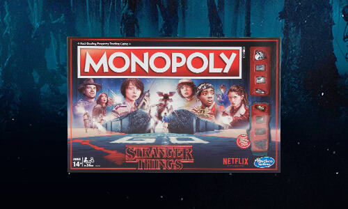 STRANGER THINGS BOARD GAMES