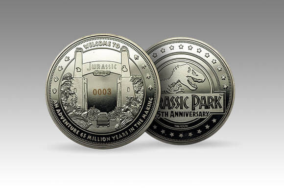 JURASSIC PARK COLLECTOR'S COIN