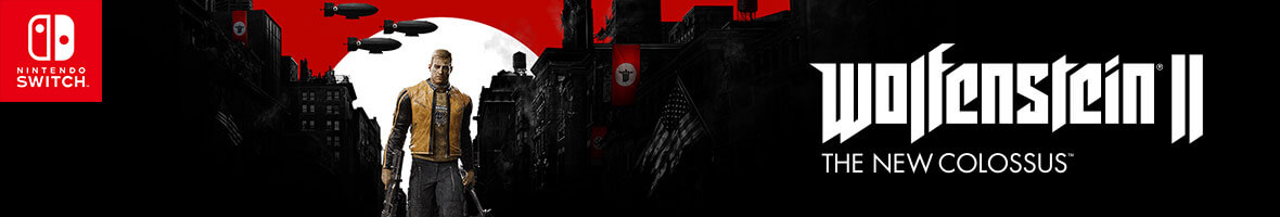 Wolfenstein II: The New Colossus on Nintendo Switch