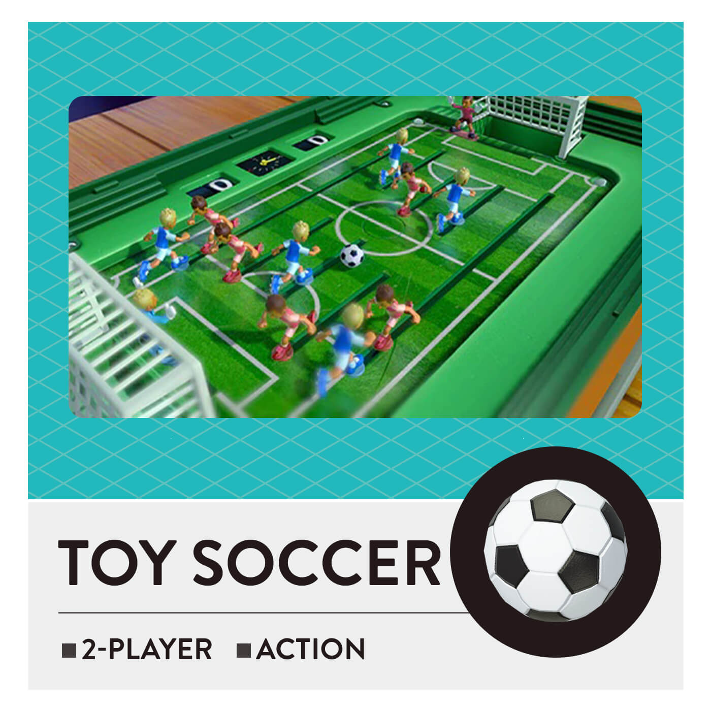 51 Worldwide Games - Toy Soccer