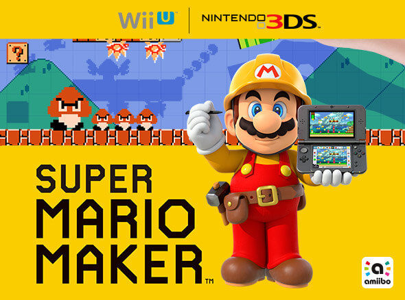 <b>Super Mario Maker for Nintendo 3DS/Wii U</b>