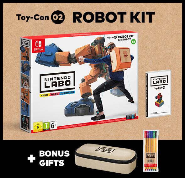 <b>Nintendo Labo Toy-Con: Robot Kit</b>
