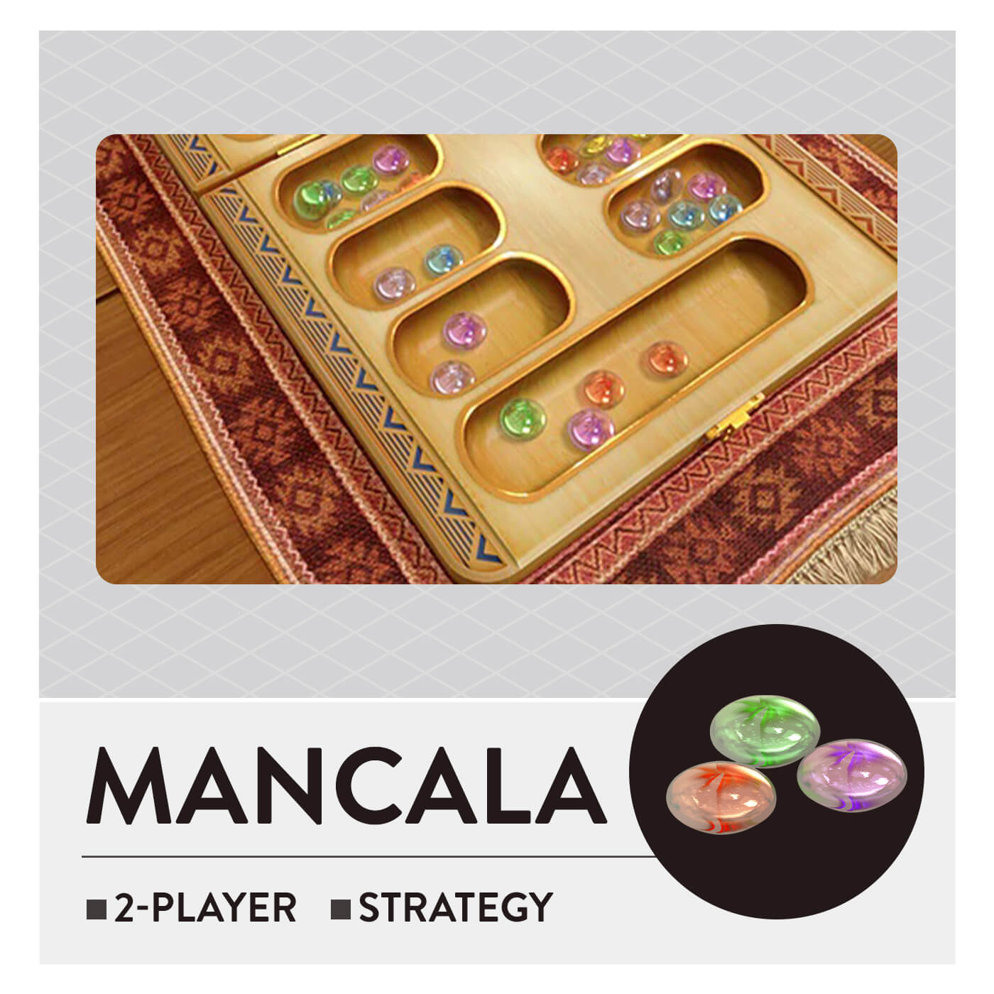 51 Worldwide Games - Mancala