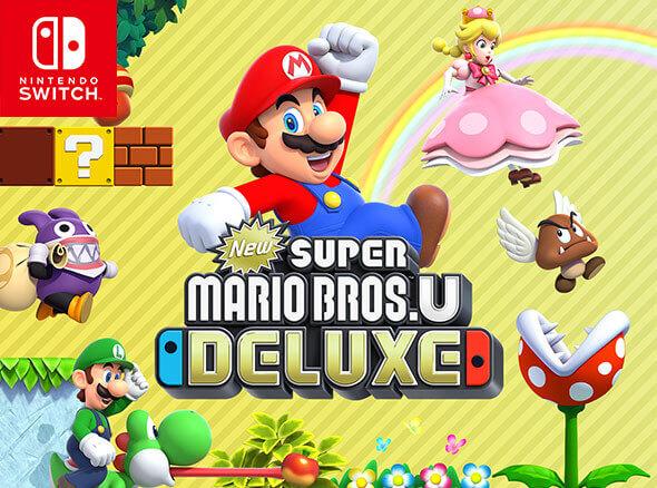 New Super Mario Bros. U Deluxe on Nintendo Switch