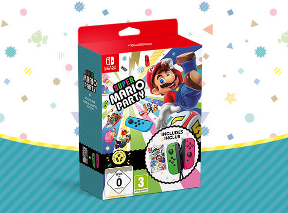 <b>Super Mario Party Limited Bundle</b>