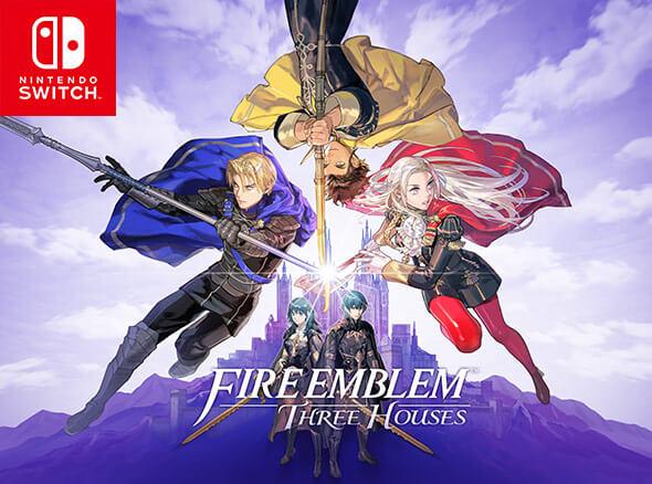 Fire Emblem: Three Houses on Nintendo Switch