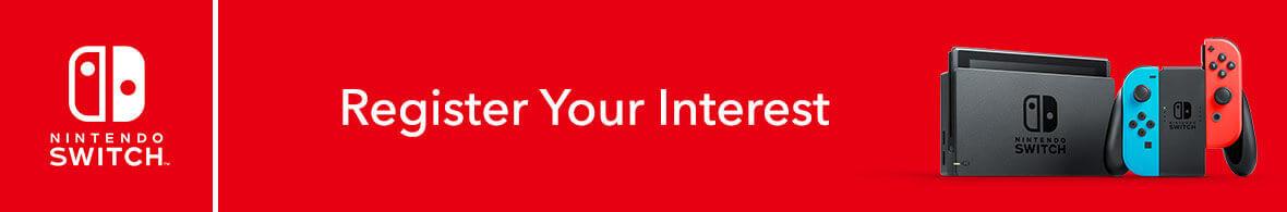 Register Interest (Nintendo Switch)