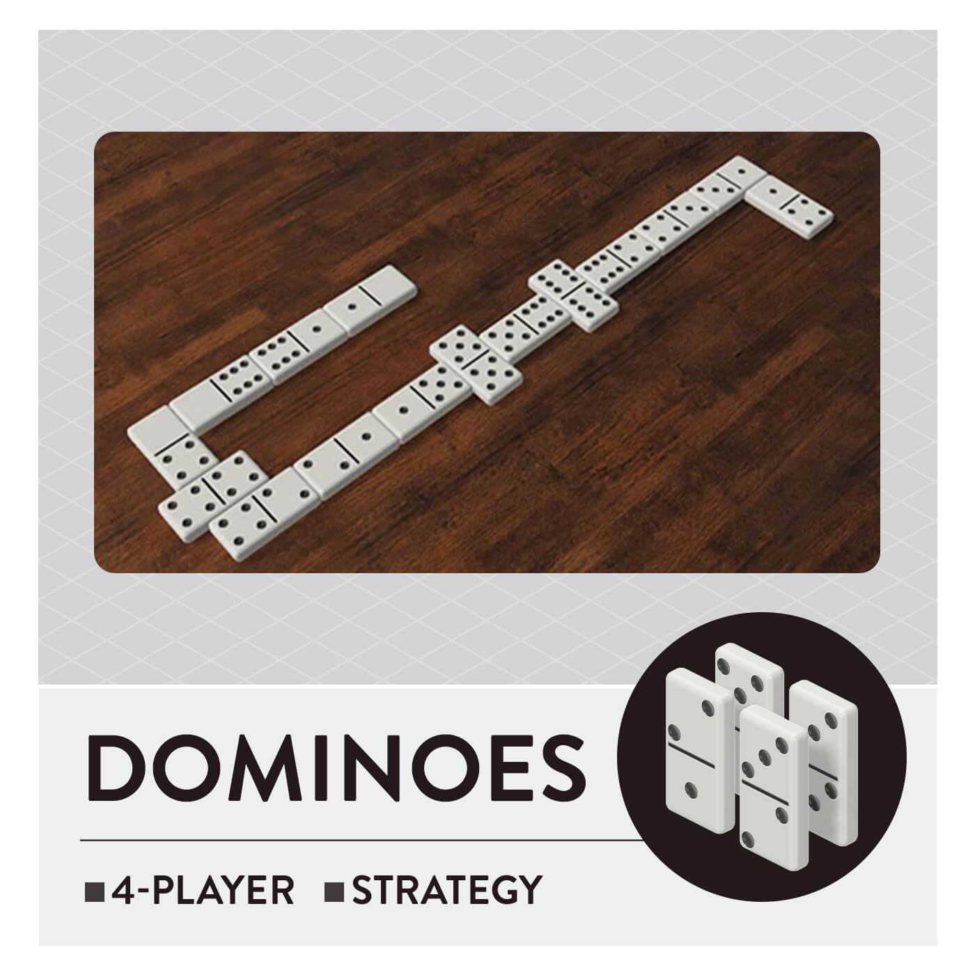 51 Worldwide Games - Dominoes
