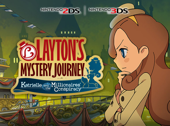 <b>Layton's Mystery Journey: Katrielle and the Millionaires' Conspiracy</b>