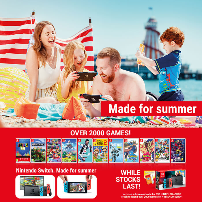 Nintendo Switch - Made for Summer