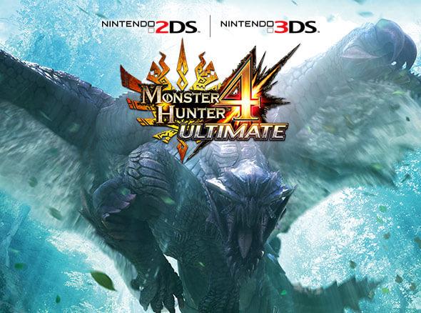 <b>Monster Hunter 4 Ultimate (Nintendo 3DS)</b>